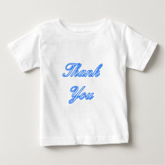 Blue White Thank You Design The MUSEUM Zazzle Gift Tee Shirt