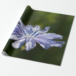 "Blue Wildflower Wrapping Paper, 30"" x 6'"