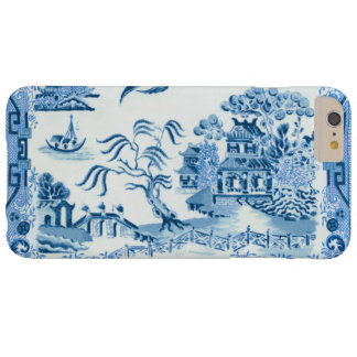 Blue Willow Barely There iPhone 6 Plus Case