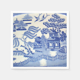 Blue Willow Cocktail Napkins Will Make You Proud Disposable Napkin