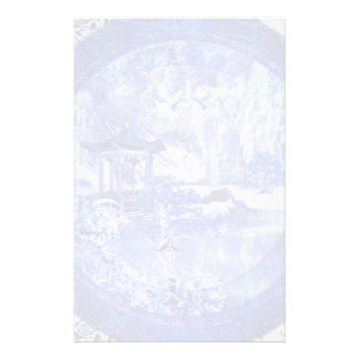 """""""Blue Willow World"""" 3 Stationery"""