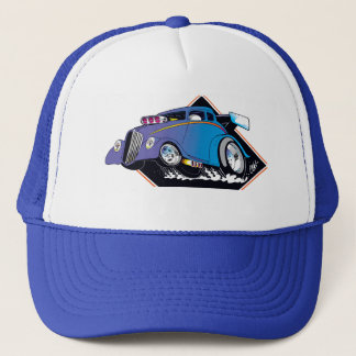 Blue Willys Trucker Hat