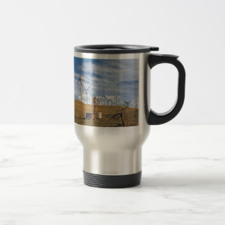 Blue Wind Travel Mug