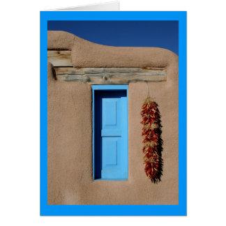 Blue Window of Taos Card
