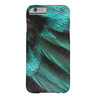 Blue Wing Covert feathers Barely There iPhone 6 Case