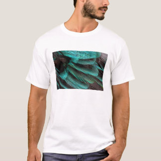 Blue Wing Covert feathers T-Shirt