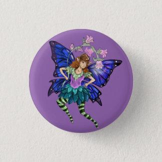 Blue Winged Pixie 1 Inch Round Button