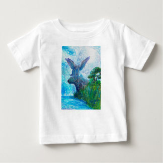 Blue Winged Wolf Wolves Canine Dog Doggy Lupin Baby T-Shirt