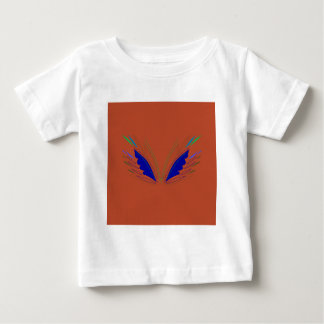 Blue wings on brown baby T-Shirt