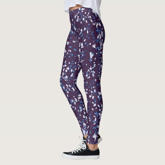 Blue With Sparkle Leggings