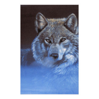 Blue Wolf Stationery