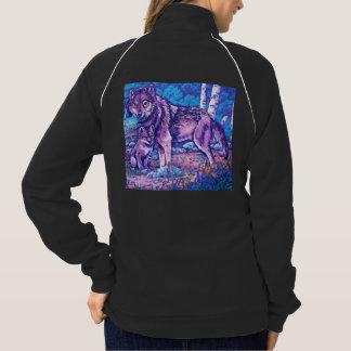 Blue Wolves Wolf Jacket