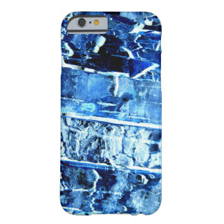 Blue Wood Pattern iPhone 6/6s Case