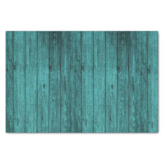 blue wood tissue paper