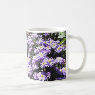 Blue Woods Asters Coffee Mug