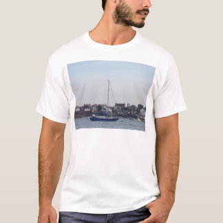 Blue Yacht On The Crouch T-Shirt