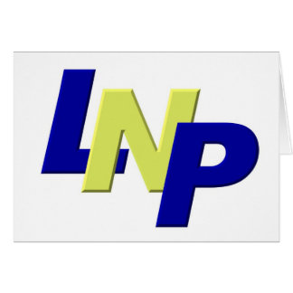 blue yellow blue LPN Card