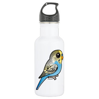 Blue & Yellow Budgie 532 Ml Water Bottle
