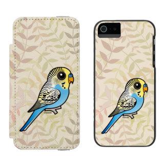 Blue & Yellow Budgie Incipio Watson™ iPhone 5 Wallet Case