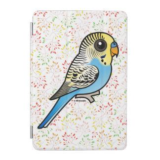 Blue & Yellow Budgie iPad Mini Cover