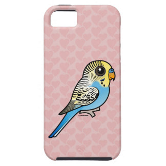 Blue & Yellow Budgie iPhone 5 Cases