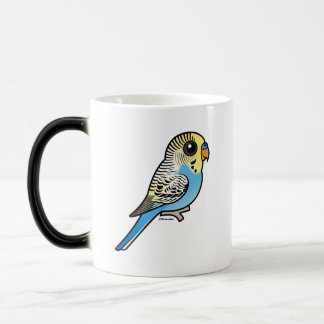 Blue & Yellow Budgie Magic Mug