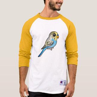 Blue & Yellow Budgie T-Shirt