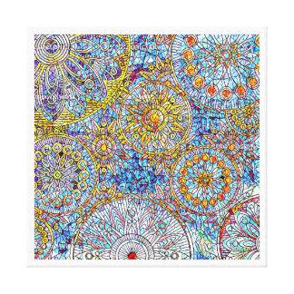 "Blue & Yellow Canvas Wall Art12"" x 12"", 1.5"","
