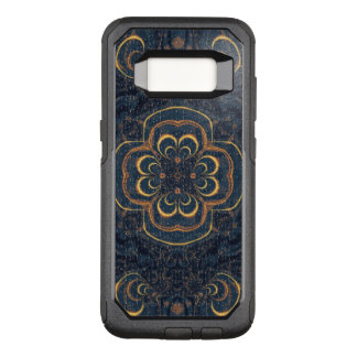 Blue Yellow Fractal Puzzle OtterBox Commuter Samsung Galaxy S8 Case