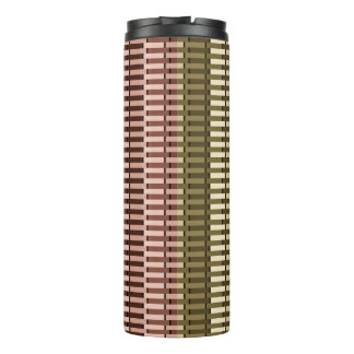 Blue Yellow Green Red Stylish Modern Chic Pattern Thermal Tumbler