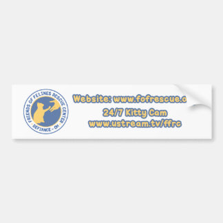 Blue/Yellow Logo Bumper Sticker