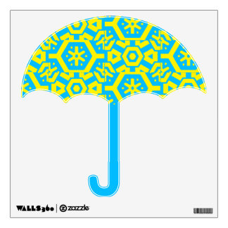 Blue Yellow Magical 4Phoebe Wall Decal