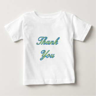 Blue Yellow Thank You Design The MUSEUM Zazzle Gif Tee Shirt