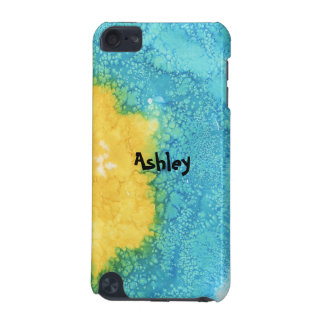 Blue/Yellow Watercolor iPod Touch 5G Case