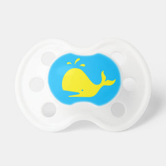 Blue Yellow Whale 4Billy Pacifier