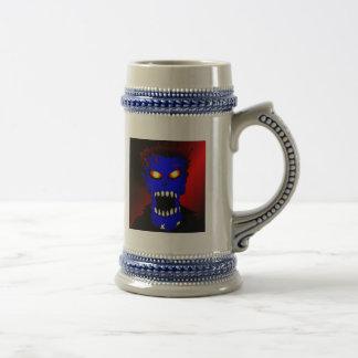 Blue Zombie Mousepads & Mugs