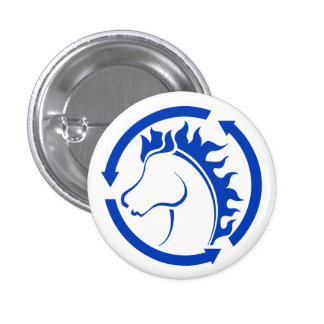 BlueBag Horse Studios Button