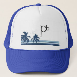 BlueBahaCaliHat Trucker Hat