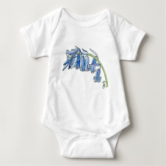 Bluebell baby bodysuit