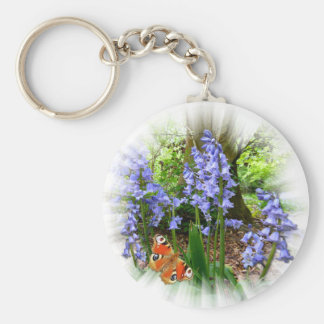 BLUEBELL & BUTTERFLY ~ Keychain