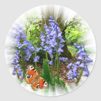 BLUEBELL & BUTTERFLY ~ Stickers