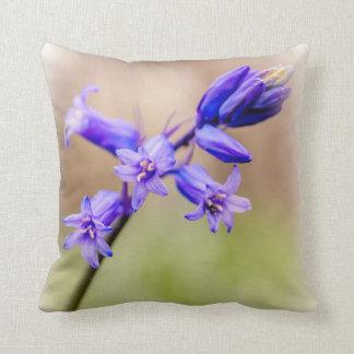 Bluebell cushion