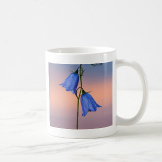 Bluebell flower at sunrise coffee mug