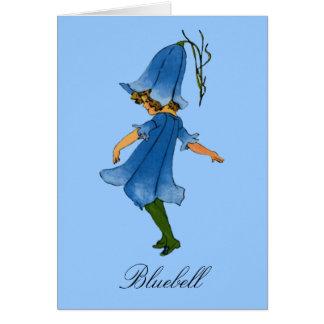 Bluebell - Flower Children Blank Notecard Greeting Card