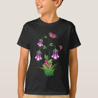 Bluebell Flower with Leaves T-Shirt