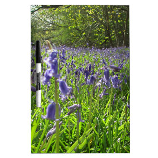 Bluebell Meadow Dry Erase Board