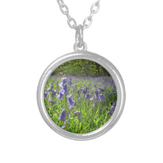 Bluebell Meadow Silver Plated Necklace