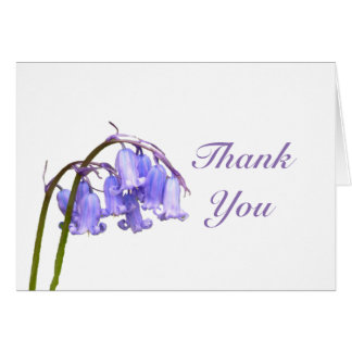 Bluebell Thank You Card