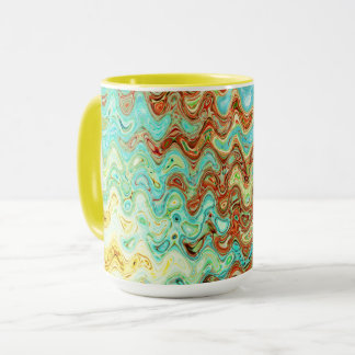 Bluebell & Yarrow Combo Mug by Artist C.L. Brown
