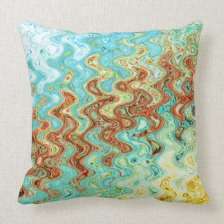 "Bluebell & Yarrow Cotton Throw Pillow 20"" x 20"""